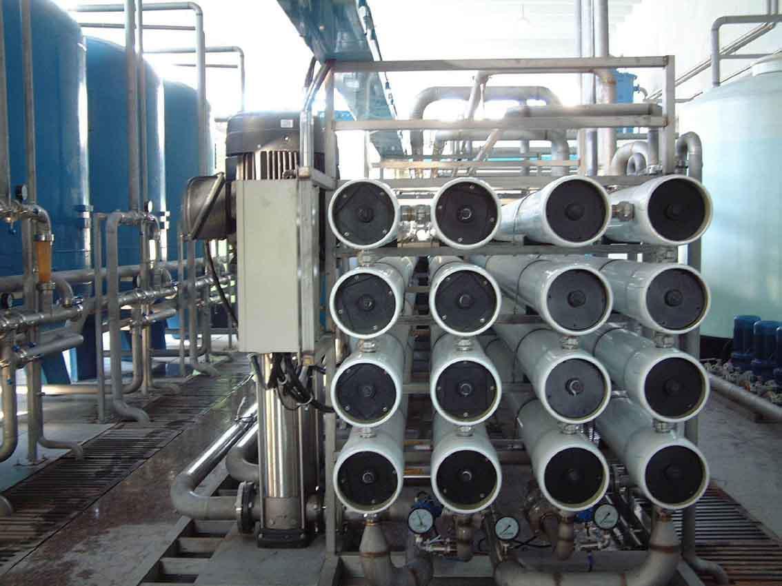 200T/H反渗透纯水系统